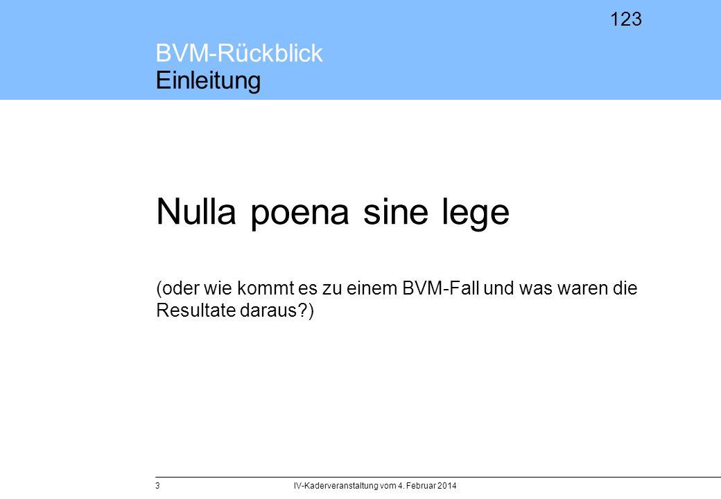 BVM-Rückblick Einleitung