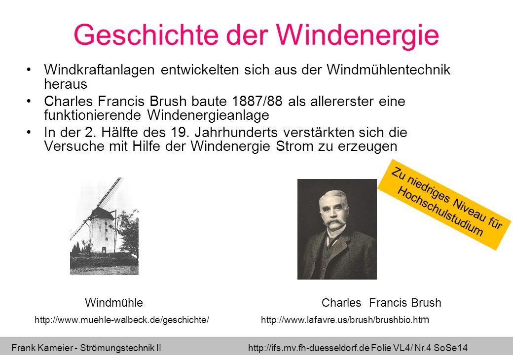 Geschichte der Windenergie