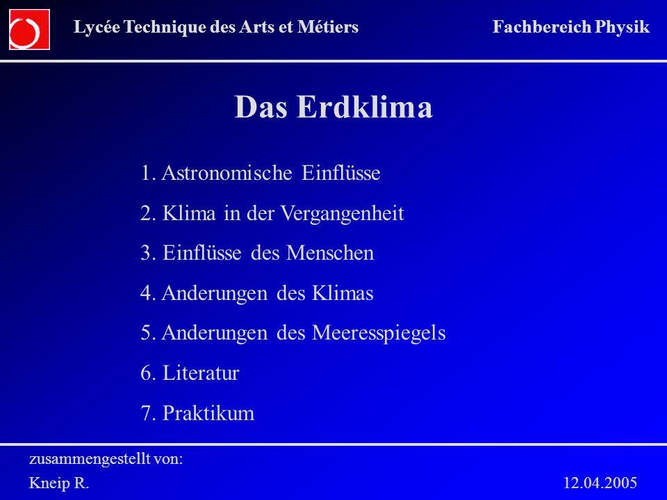 zusammengestellt von: Kneip R. 12.04.2005