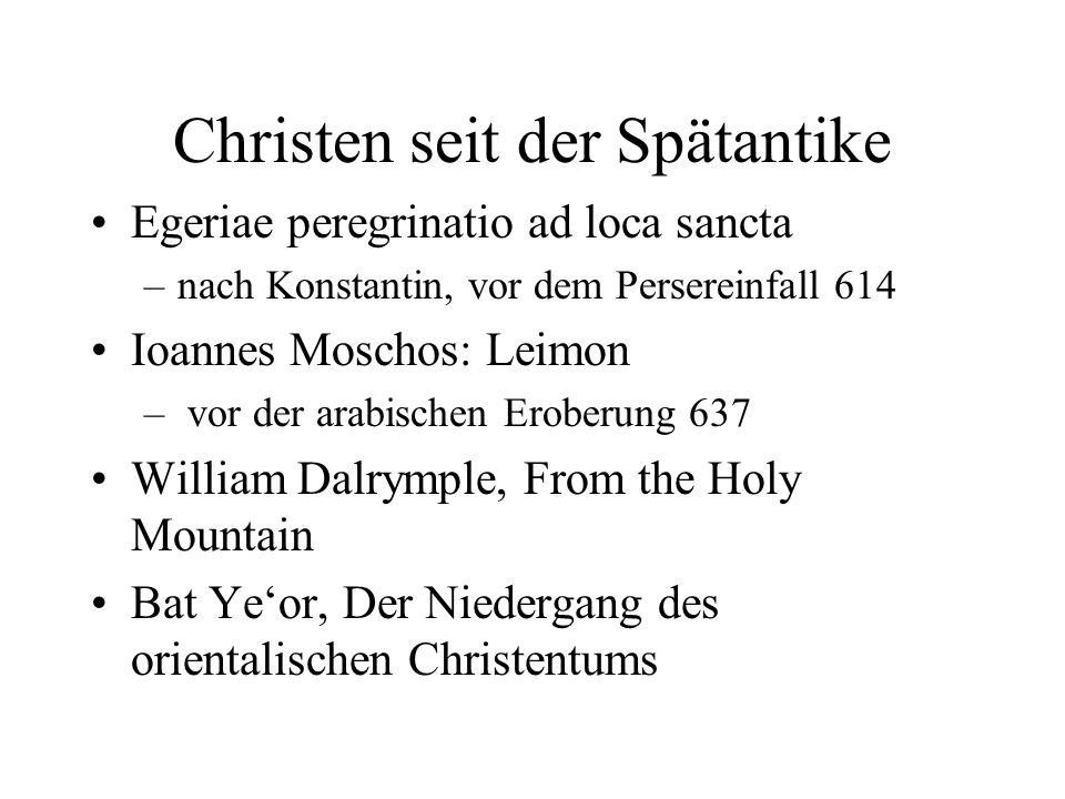 Christen seit der Spätantike