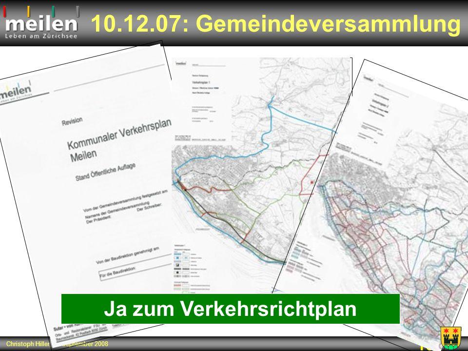 10.12.07: Gemeindeversammlung