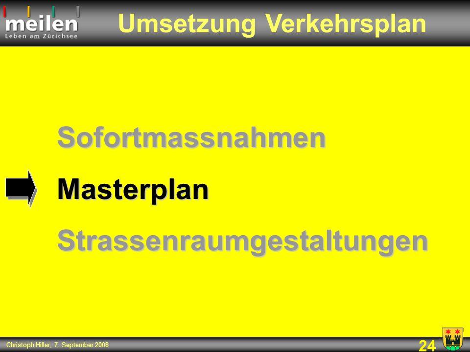 Umsetzung Verkehrsplan