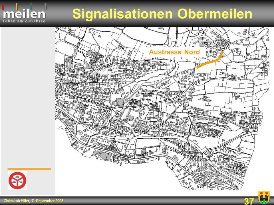 Signalisationen Obermeilen