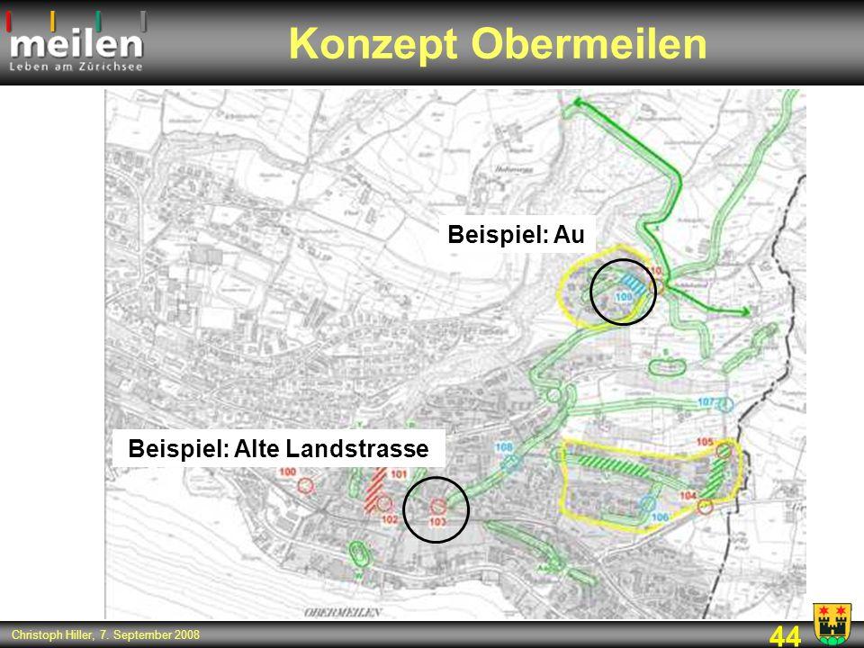 Beispiel: Alte Landstrasse