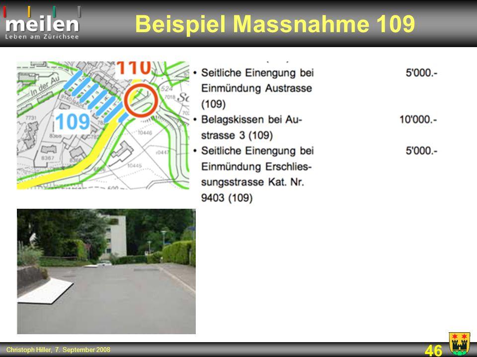 Beispiel Massnahme 109