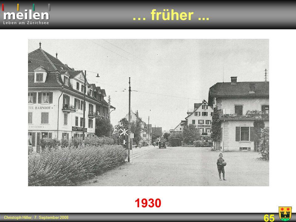 … früher ... 1930