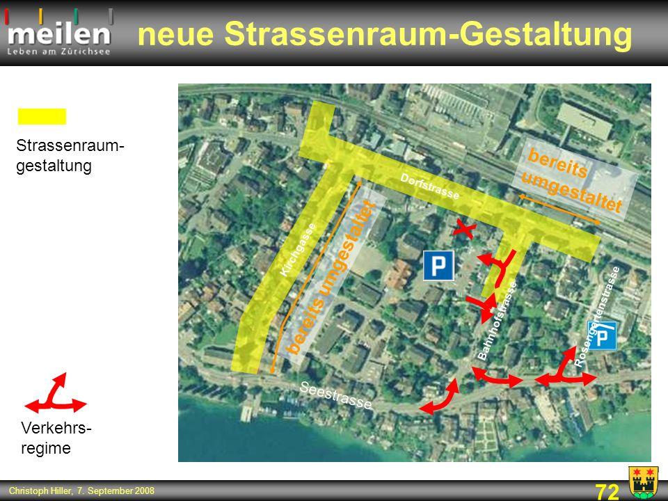 neue Strassenraum-Gestaltung