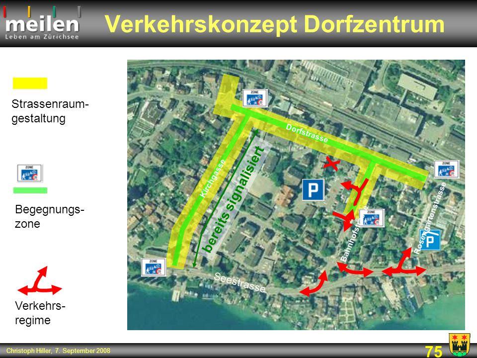 Verkehrskonzept Dorfzentrum