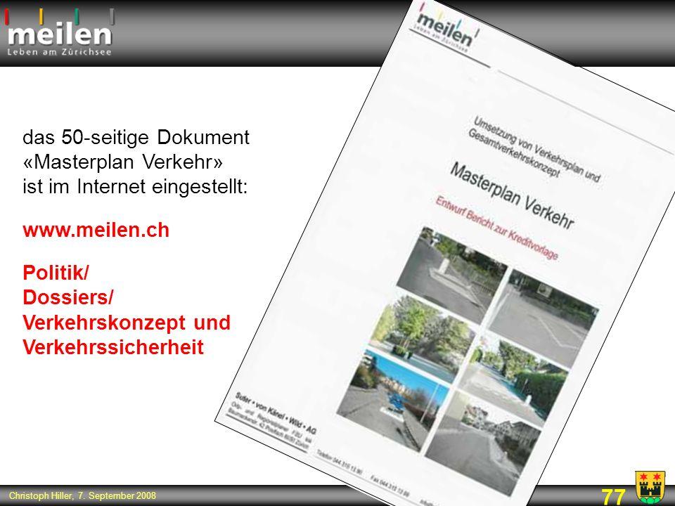Politik/ Dossiers/ Verkehrskonzept und Verkehrssicherheit