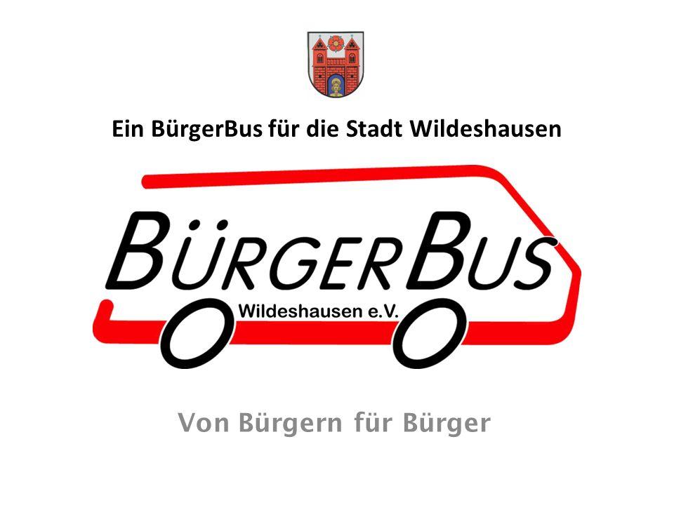 Ein BürgerBus für die Stadt Wildeshausen