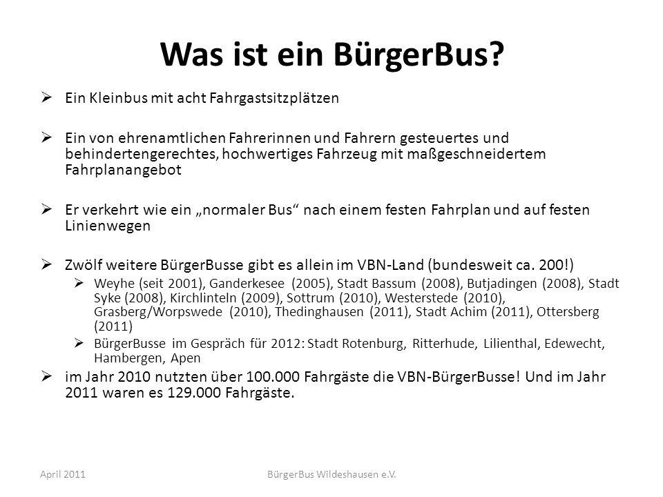 BürgerBus Wildeshausen e.V.