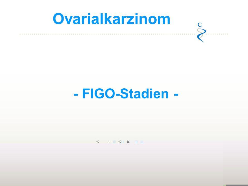 Ovarialkarzinom - FIGO-Stadien - 1973-1977: 1:70, 1,4%