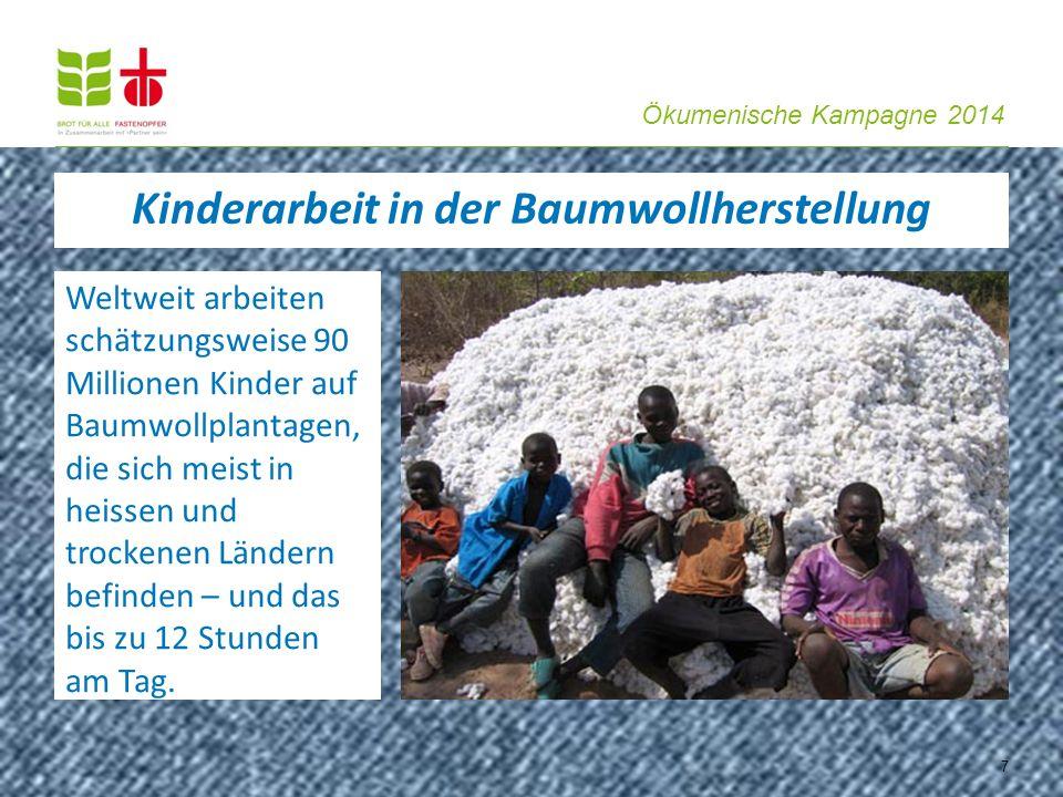 Kinderarbeit in der Baumwollherstellung