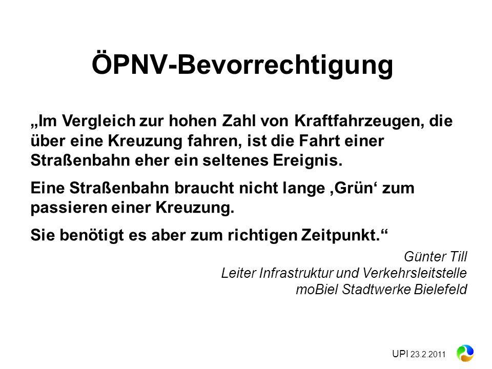 ÖPNV-Bevorrechtigung