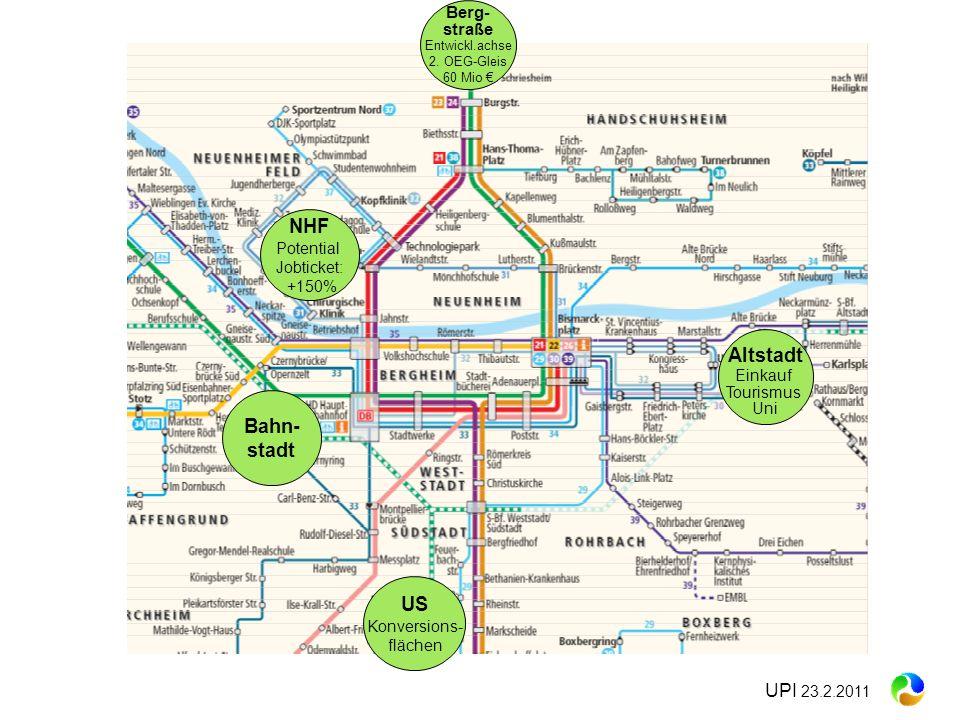 Altstadt Bahn- stadt US