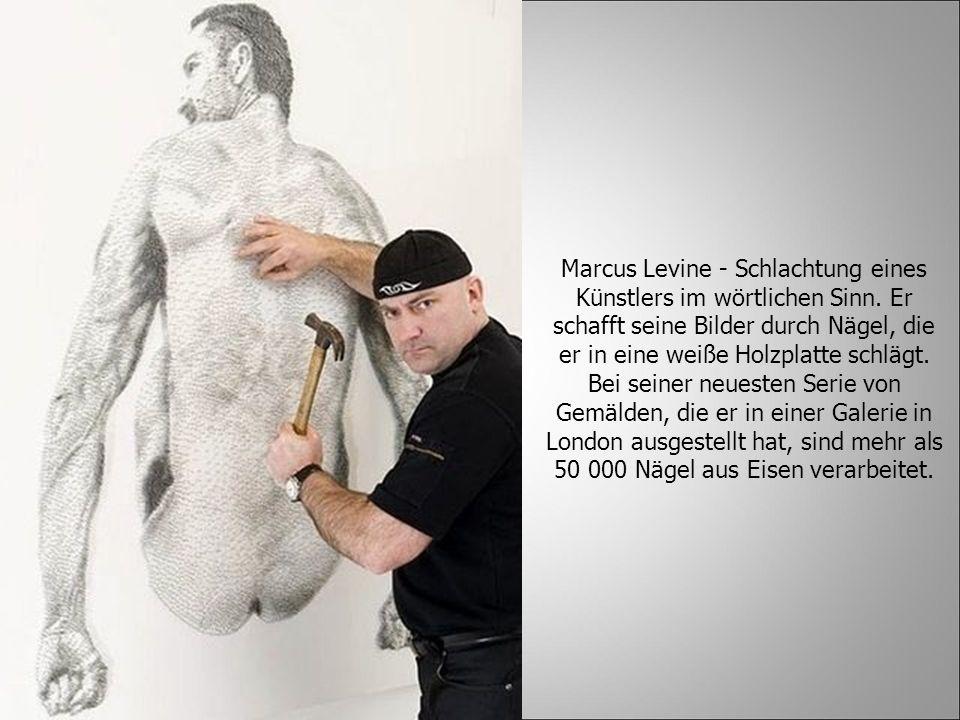 Marcus Levine - Schlachtung eines Künstlers im wörtlichen Sinn