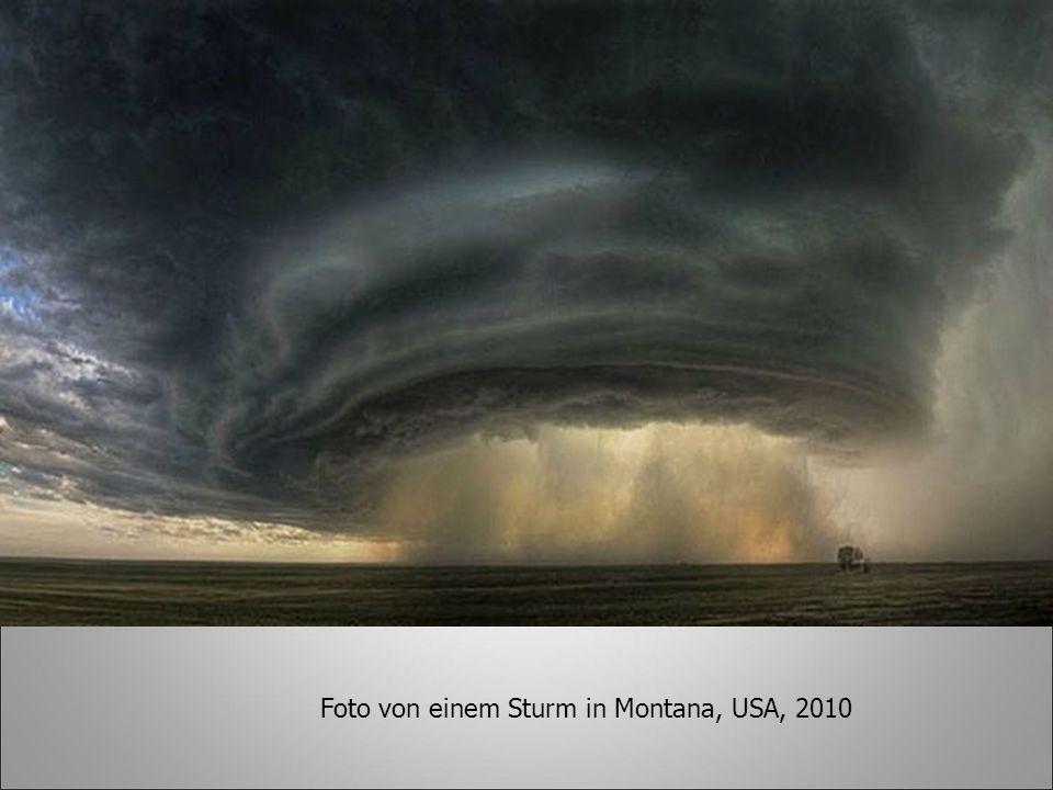 Foto von einem Sturm in Montana, USA, 2010