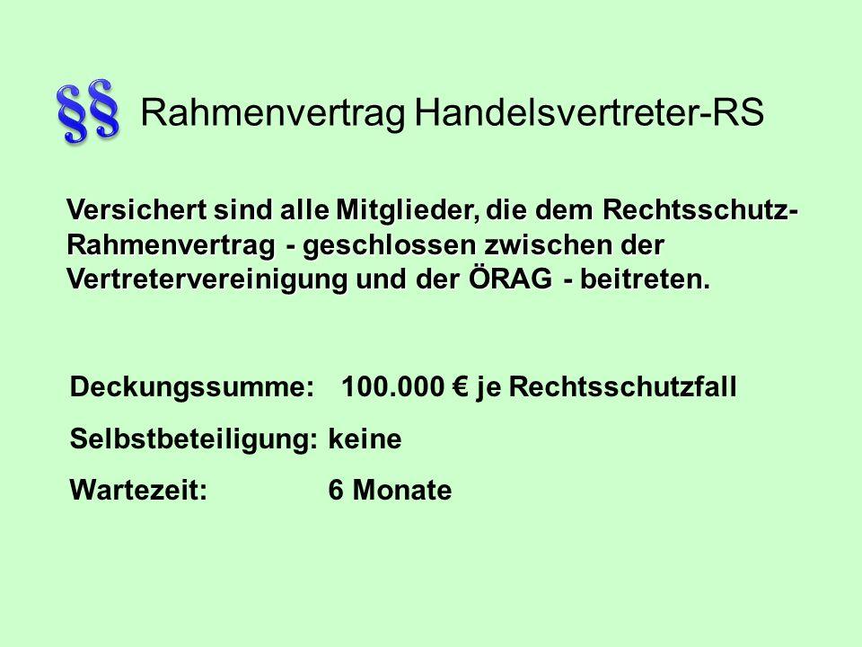 Rahmenvertrag Handelsvertreter-RS