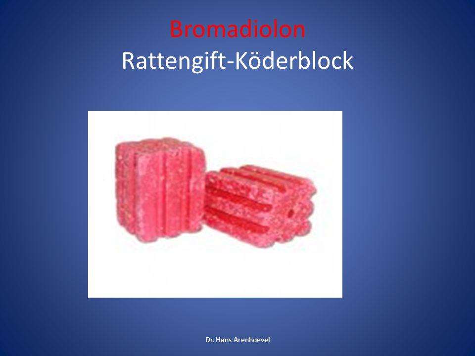 Bromadiolon Rattengift-Köderblock