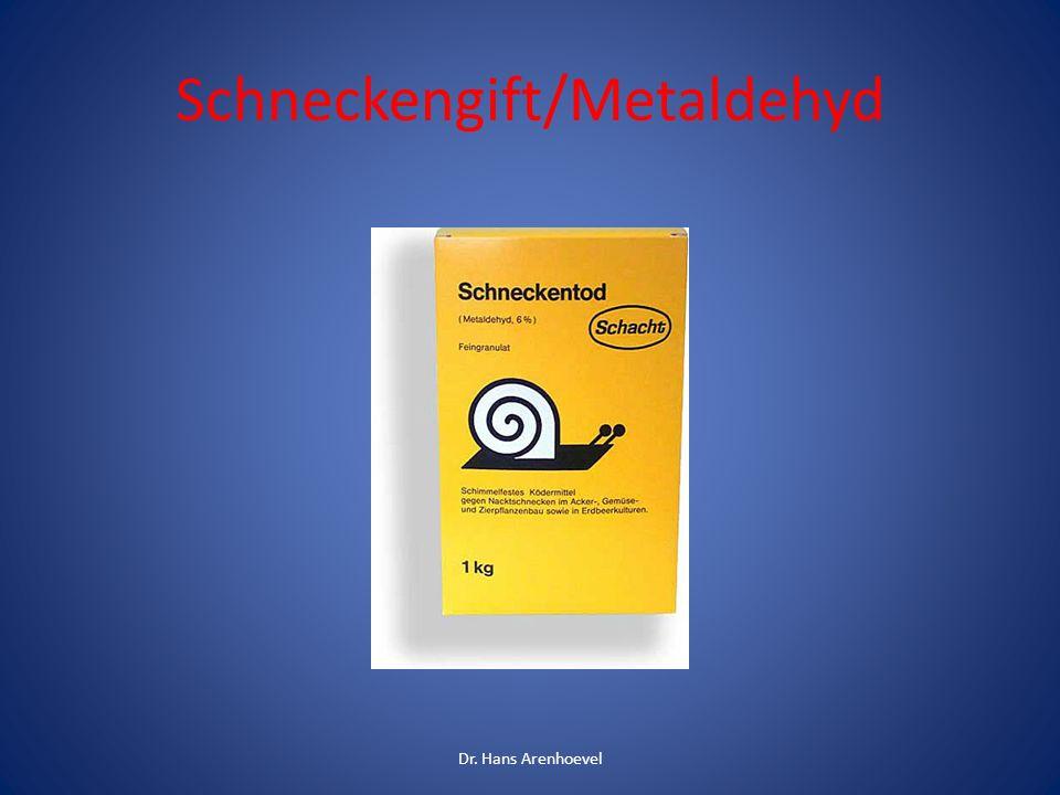 Schneckengift/Metaldehyd