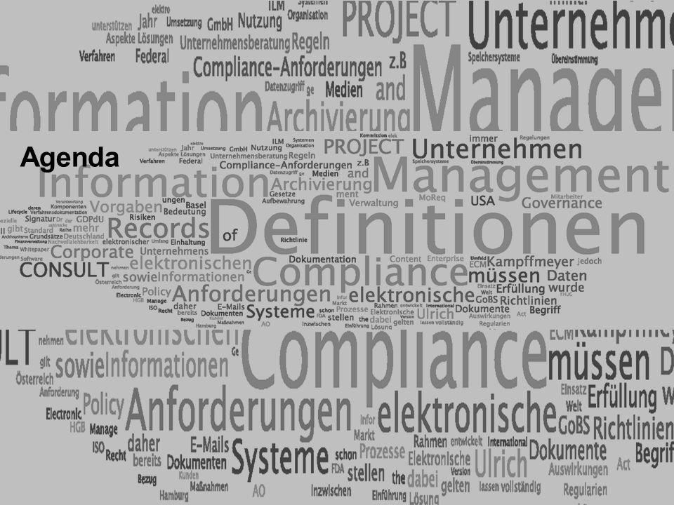 Agenda PROJECT CONSULT Unternehmensberatung ELO-Fachkongress