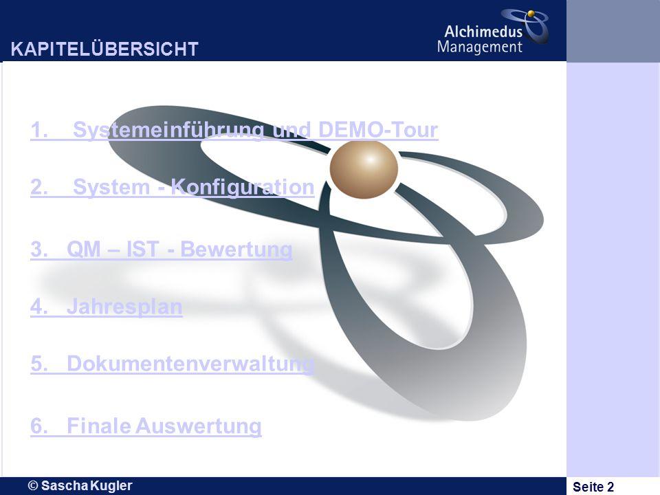 1. Systemeinführung und DEMO-Tour