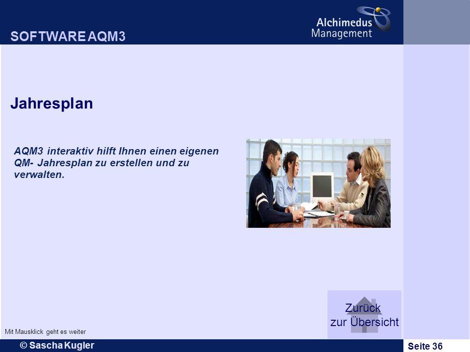 Jahresplan SOFTWARE AQM3 Zurück zur Übersicht