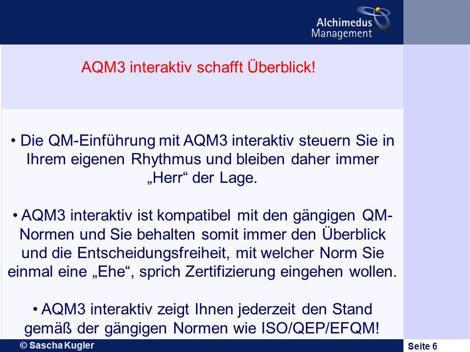 AQM3 interaktiv schafft Überblick!