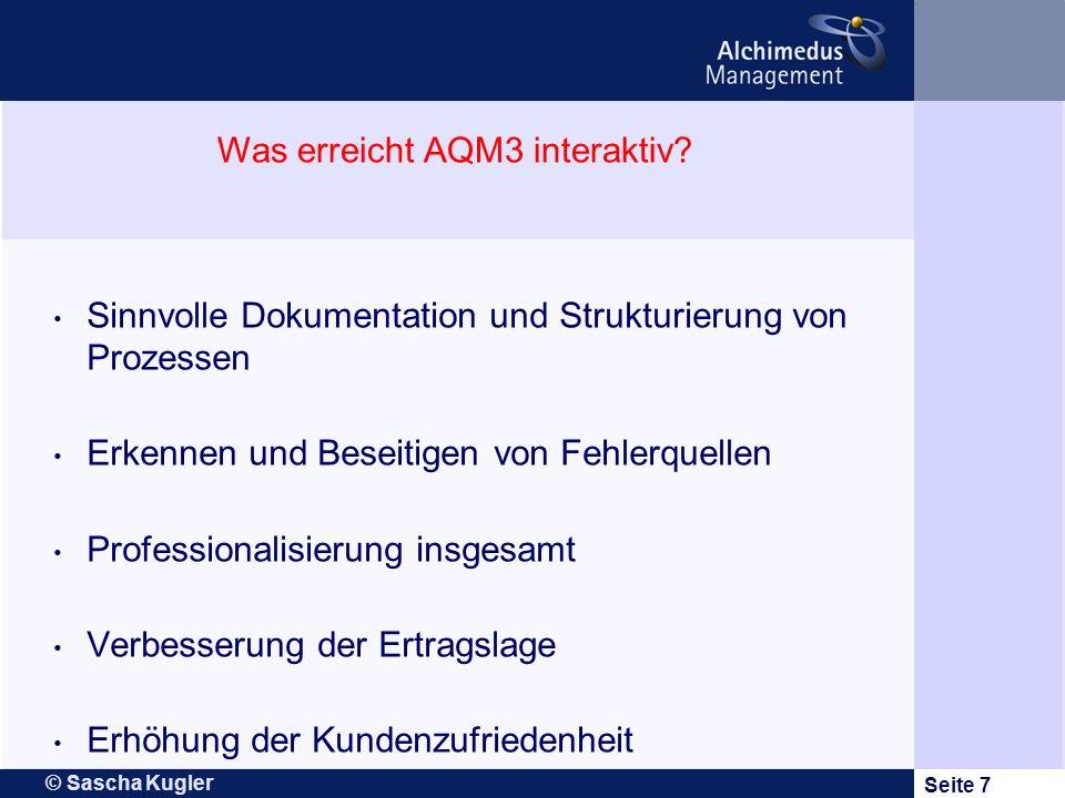 Was erreicht AQM3 interaktiv