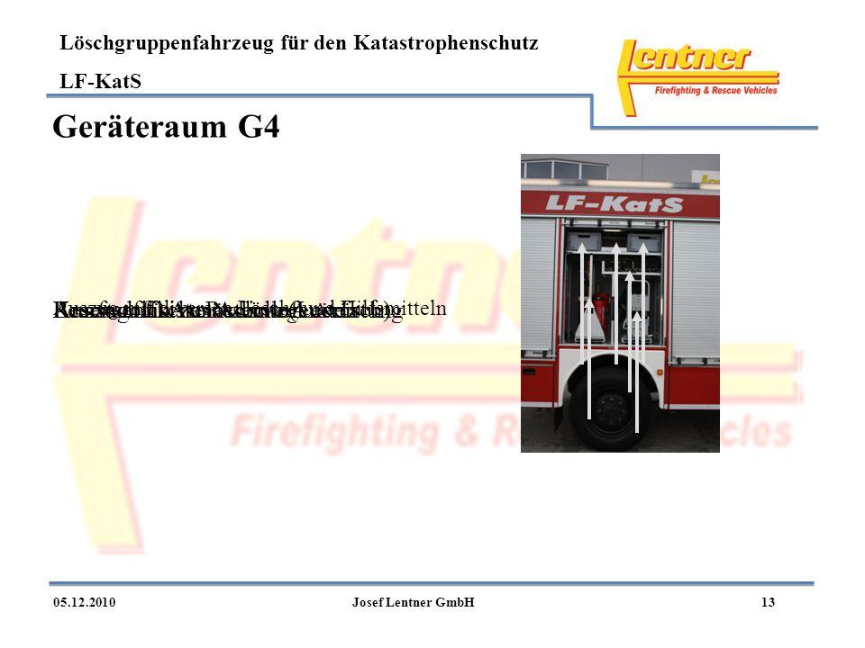 Geräteraum G4 Kunststoffkiste Reserve (Leerfach)