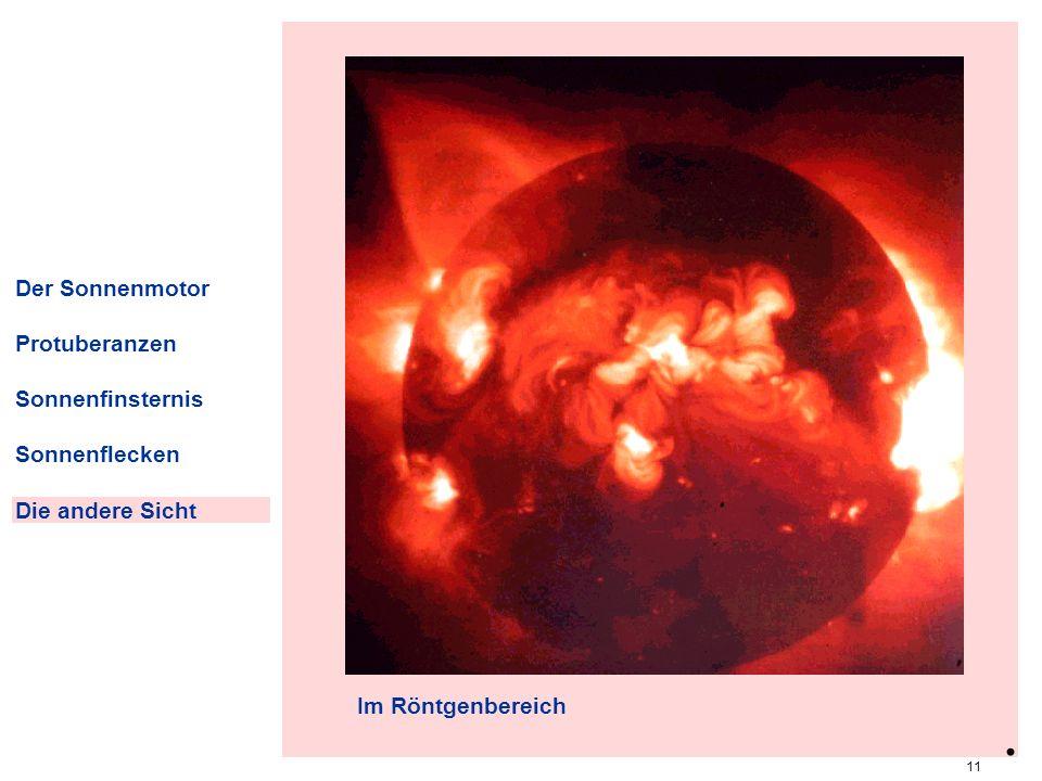 . roentg Der Sonnenmotor Protuberanzen Sonnenfinsternis Sonnenflecken