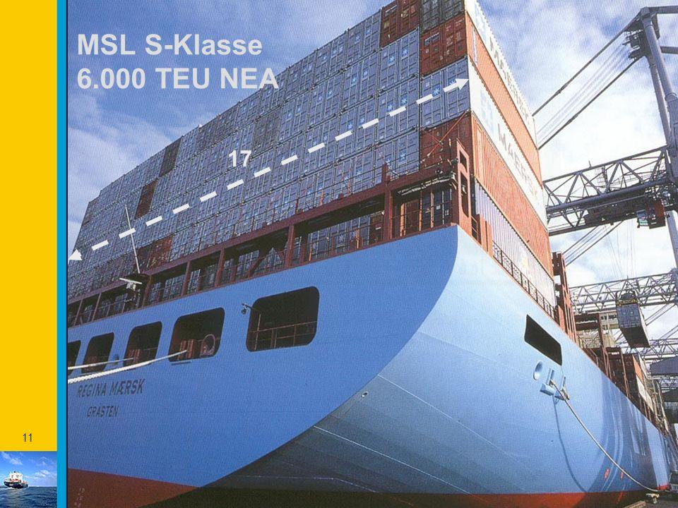 MSL S-Klasse 6.000 TEU NEA 17