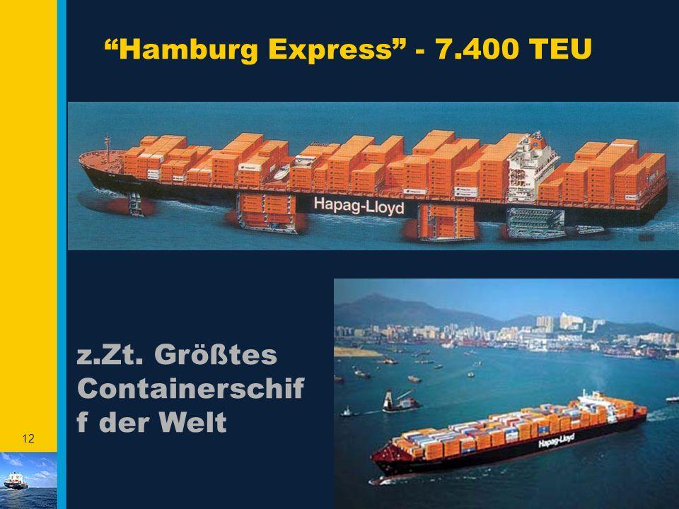 Hamburg Express - 7.400 TEU