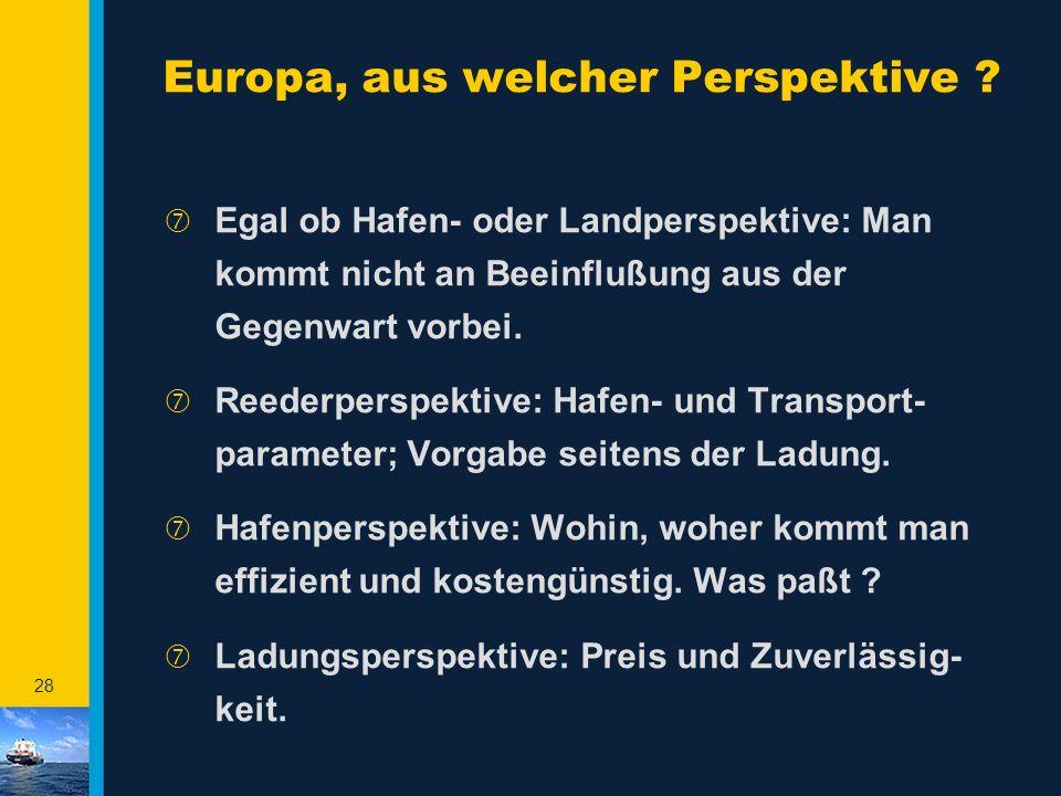 Europa, aus welcher Perspektive
