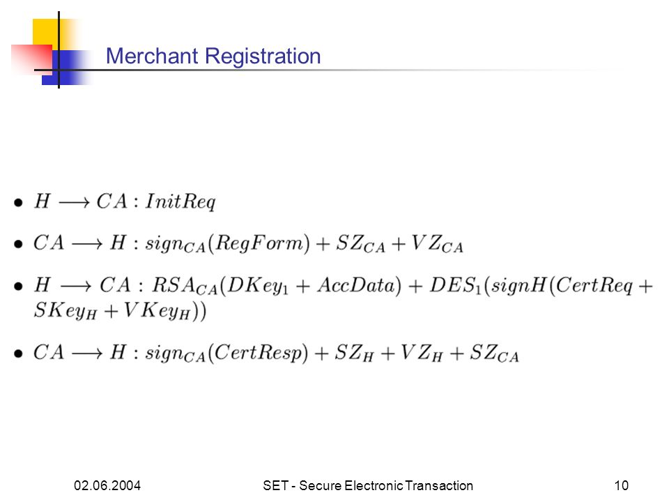 Merchant Registration