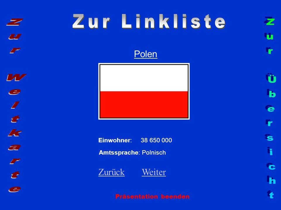 Zur Linkliste Zur Weltkarte Zur Übersicht Polen Zurück Weiter