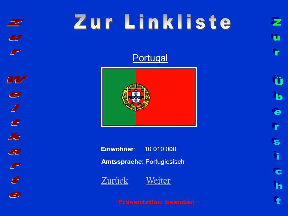 Zur Linkliste Zur Weltkarte Zur Übersicht Portugal Zurück Weiter
