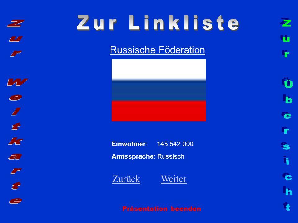 Zur Linkliste Zur Weltkarte Zur Übersicht Russische Föderation