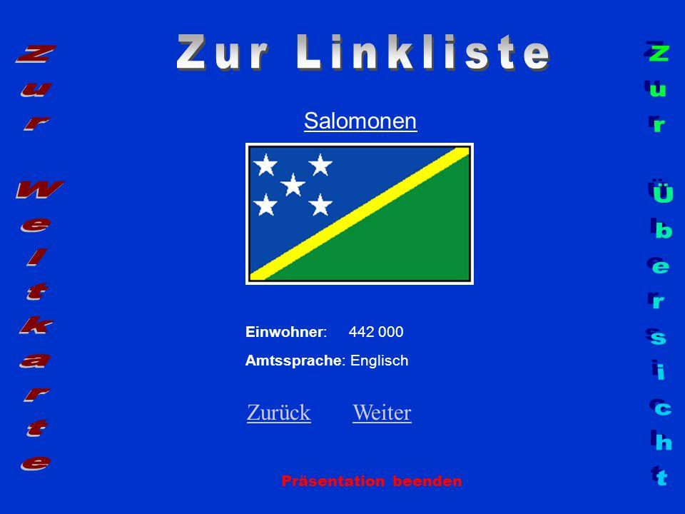 Zur Linkliste Zur Weltkarte Zur Übersicht Salomonen Zurück Weiter