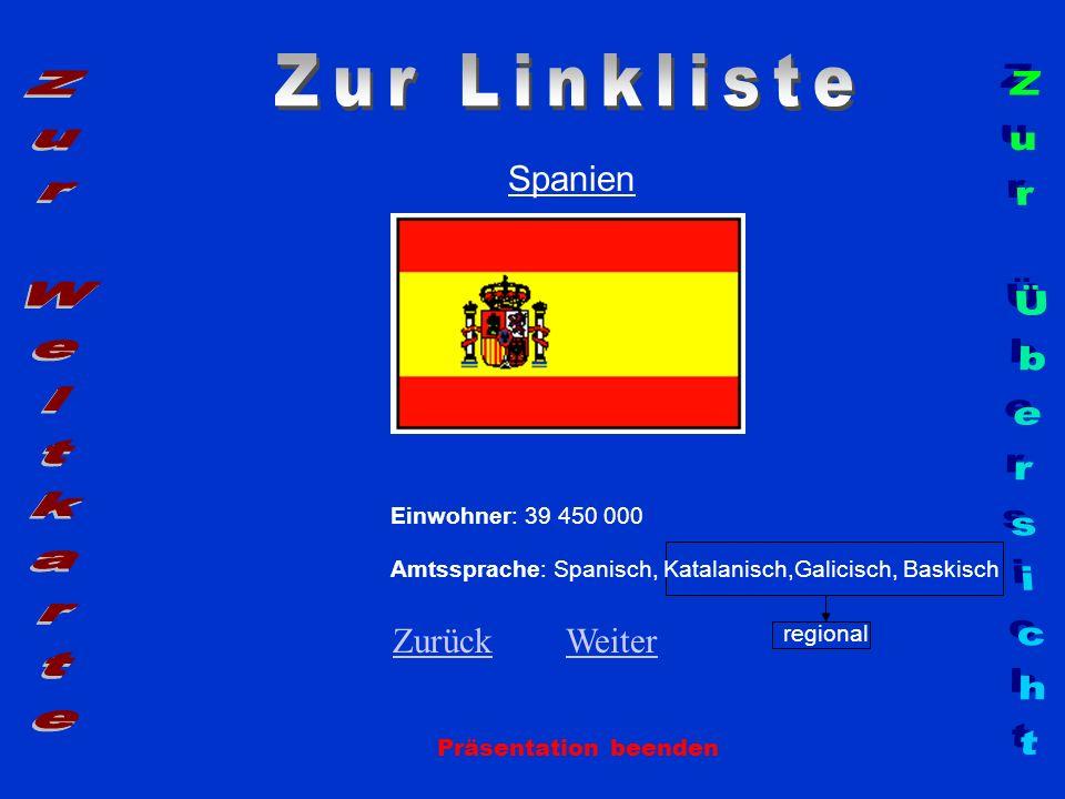 Zur Linkliste Zur Weltkarte Zur Übersicht Spanien Zurück Weiter