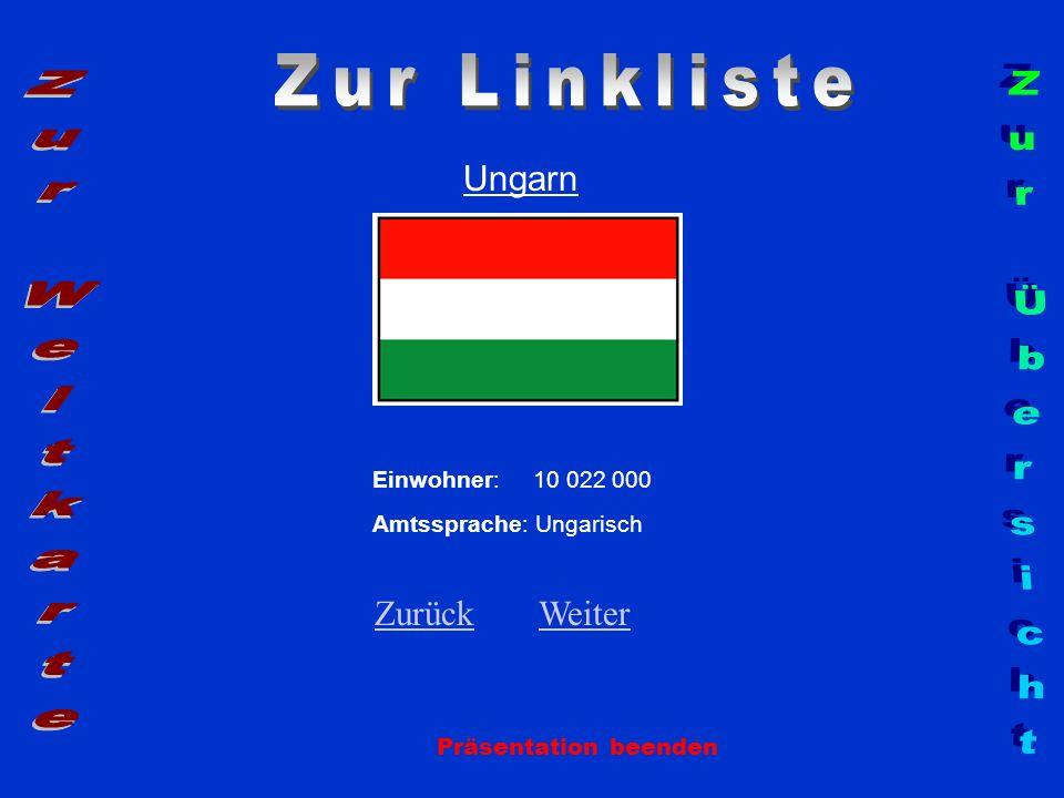 Zur Linkliste Zur Weltkarte Zur Übersicht Ungarn Zurück Weiter