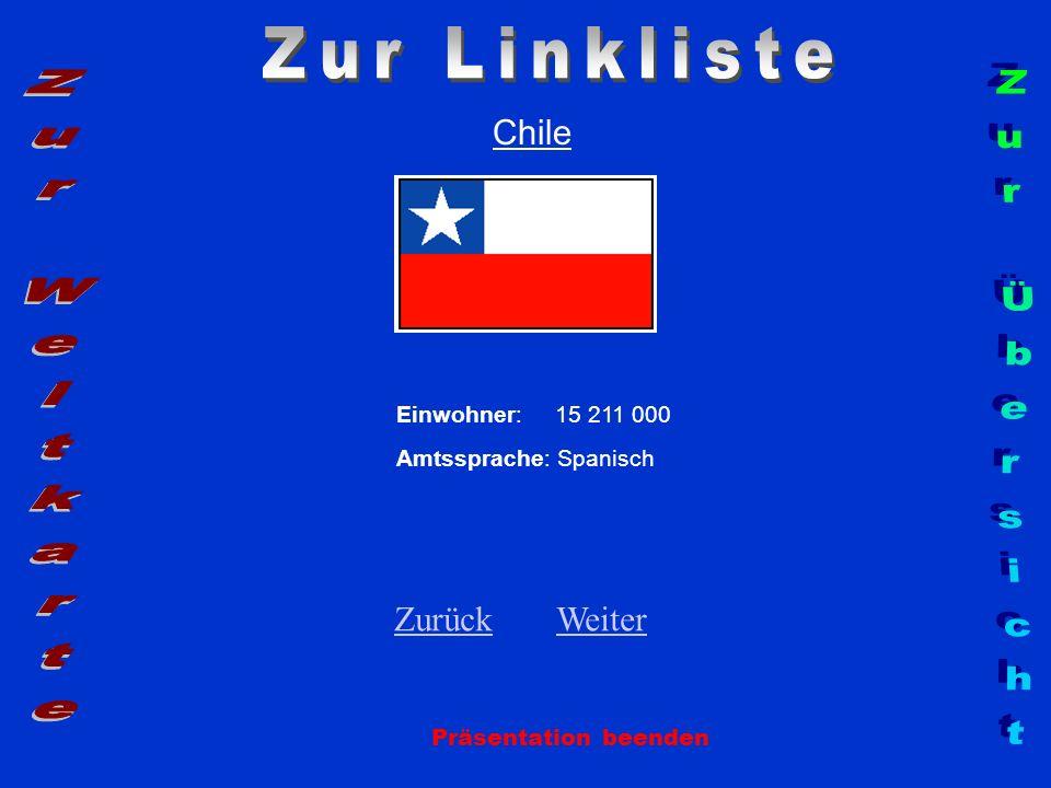 Zur Linkliste Zur Weltkarte Zur Übersicht Chile Zurück Weiter