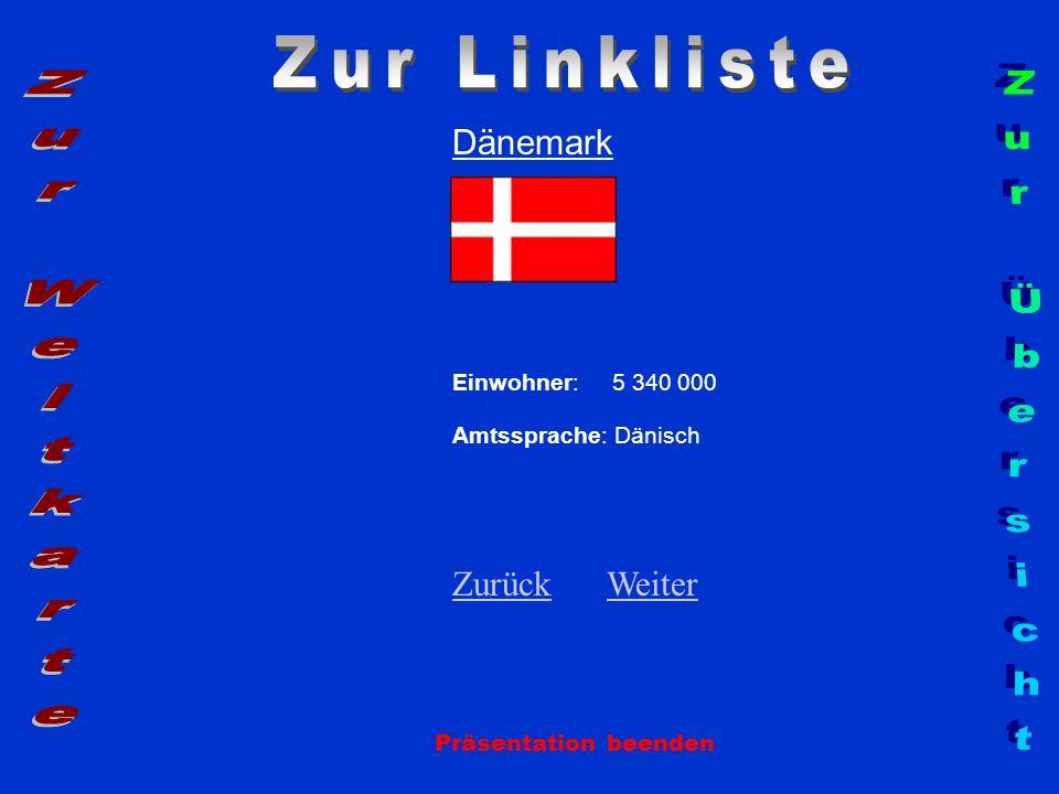 Zur Linkliste Zur Weltkarte Zur Übersicht Dänemark Zurück Weiter