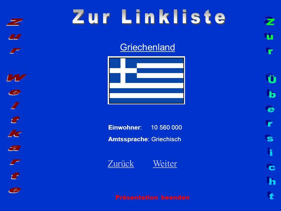 Zur Linkliste Zur Weltkarte Zur Übersicht Griechenland Zurück Weiter
