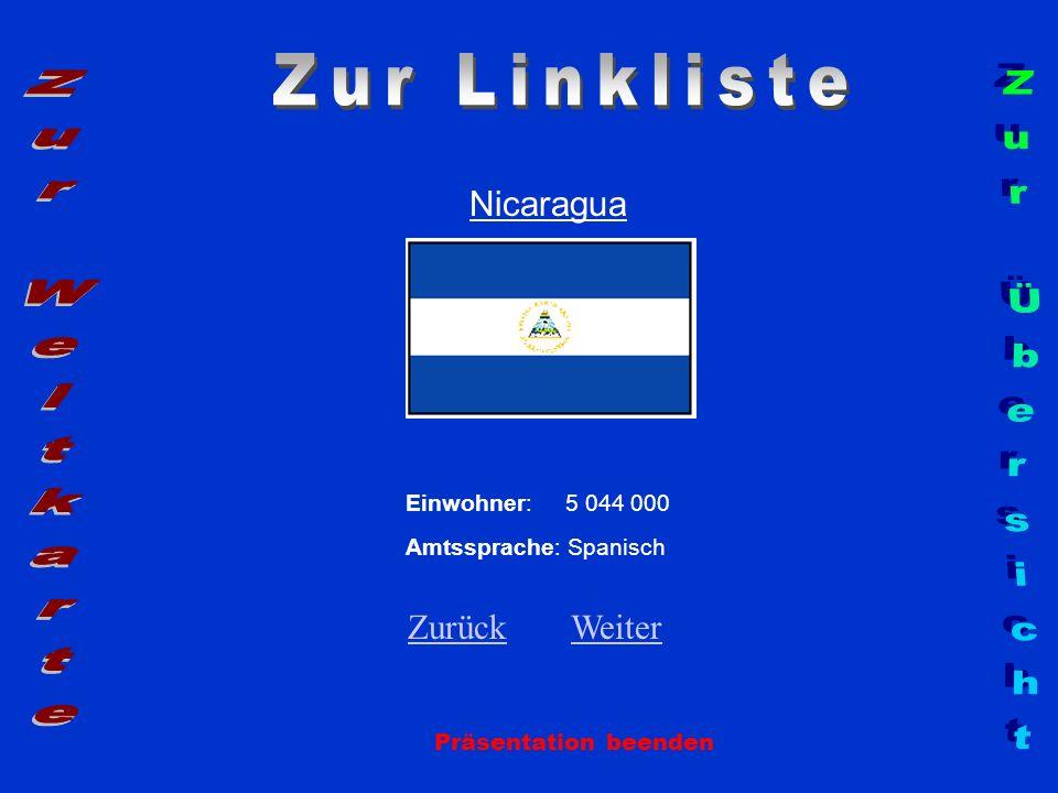 Zur Linkliste Zur Weltkarte Zur Übersicht Nicaragua Zurück Weiter