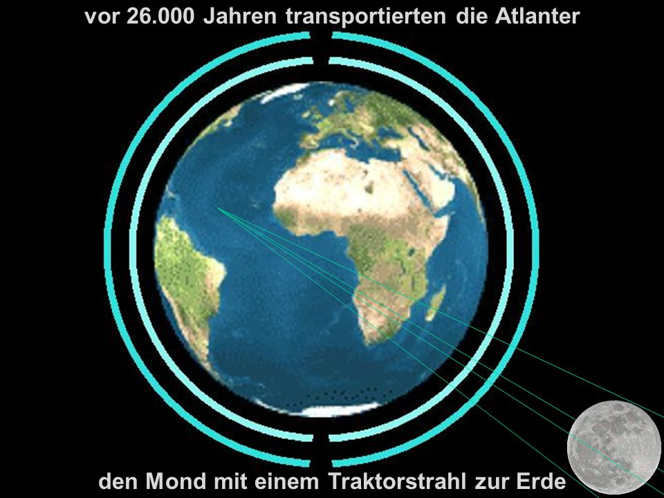vor 26.000 Jahren transportierten die Atlanter