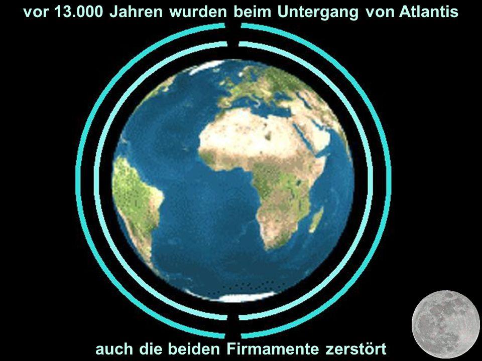 vor 13.000 Jahren wurden beim Untergang von Atlantis