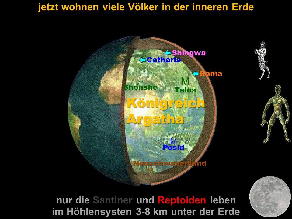 Königreich Argatha M jetzt wohnen viele Völker in der inneren Erde