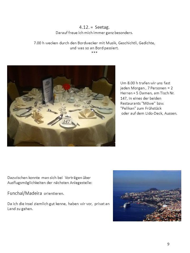 Funchal/Madeira orientieren.