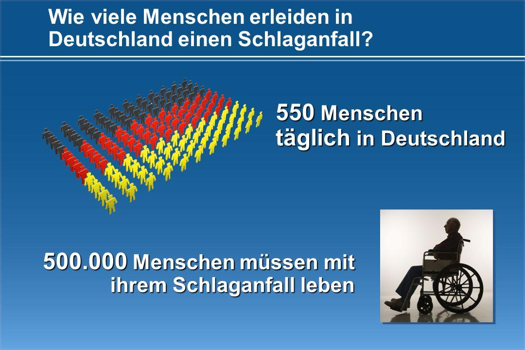 Wie viele Menschen erleiden in Deutschland einen Schlaganfall